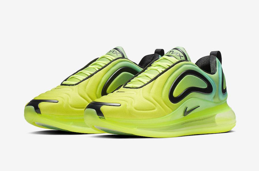 wholesale dealer 5aa07 e1a81 Nike Air Max 720 Neon