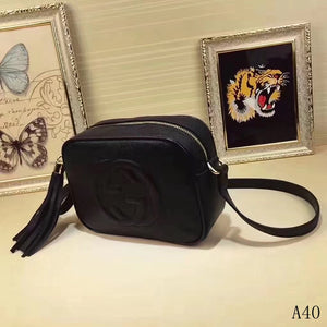 G Smal Bag Soho Disco Black White