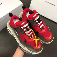 Load image into Gallery viewer, Balenciaga Triple S  Red Sneakers