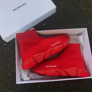 Balenciaga Speed Trainer  Sneakers Red Red