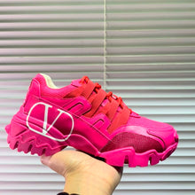 Load image into Gallery viewer, Valentino Sneakers Fuchsia