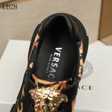 Load image into Gallery viewer, Versace  Sneakers  Black Ornament