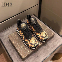 Load image into Gallery viewer, Versace Sneakers Gold