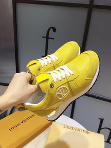 L Sneakers Yellow