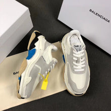 Load image into Gallery viewer, Balenciaga Triple S Blue Grey Sneakers