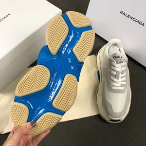Balenciaga Triple S Blue Grey Sneakers