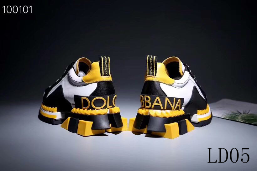 D&G Sneakers Yellow