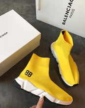 Load image into Gallery viewer, Balenciaga Speed Trainer Yellow bb