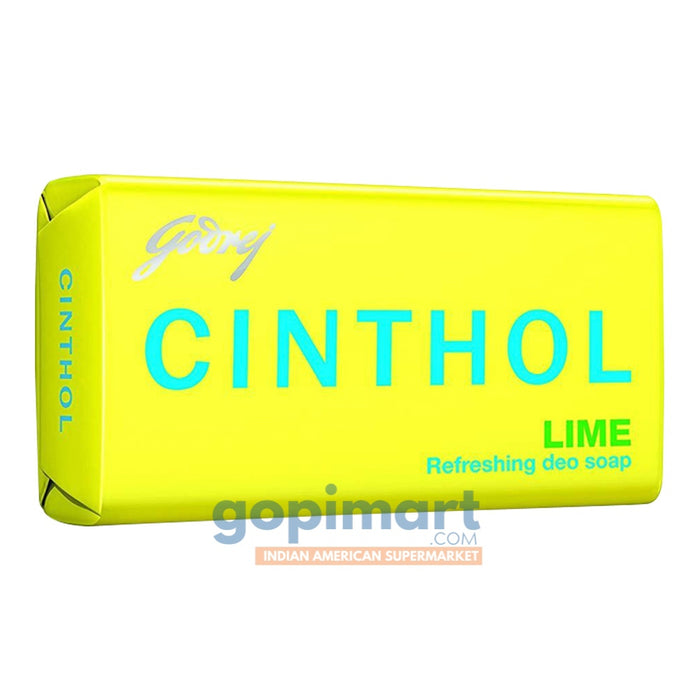 Cinthol Lime (Yellow) Soap