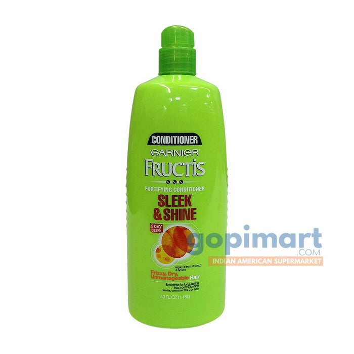 Garnier Fructis Sleek & Shine Conditioner, Pump (40 fl oz)