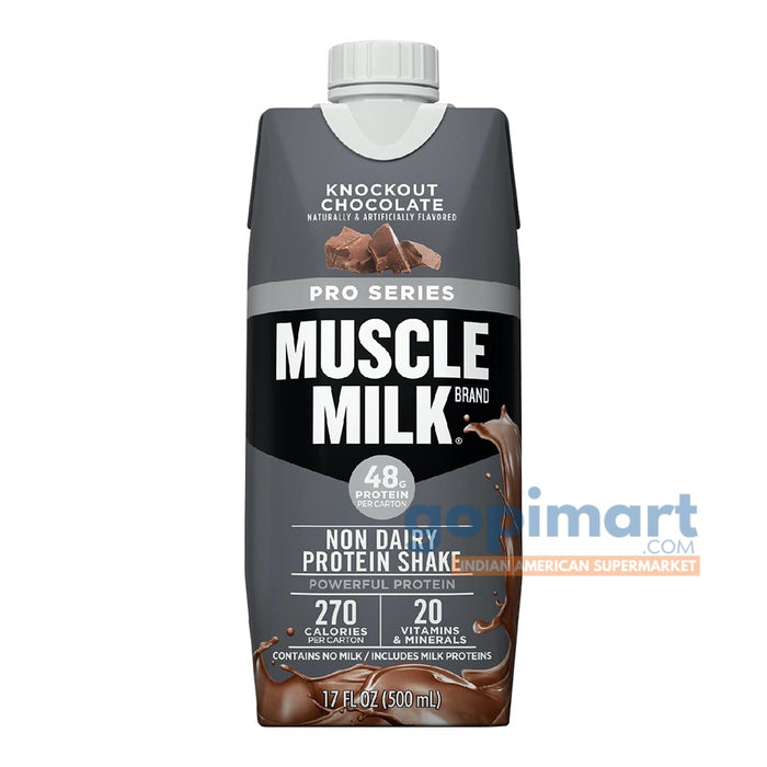 Muscle Milk Pro Series Non-Dairy Protein Shake, Knockout Chocolate