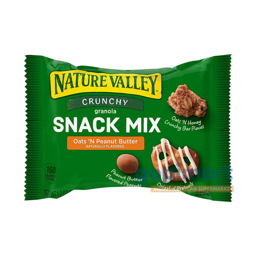 Nature Valley Crunchy Granola Snack Mix, Oats 'N Peanut Butter