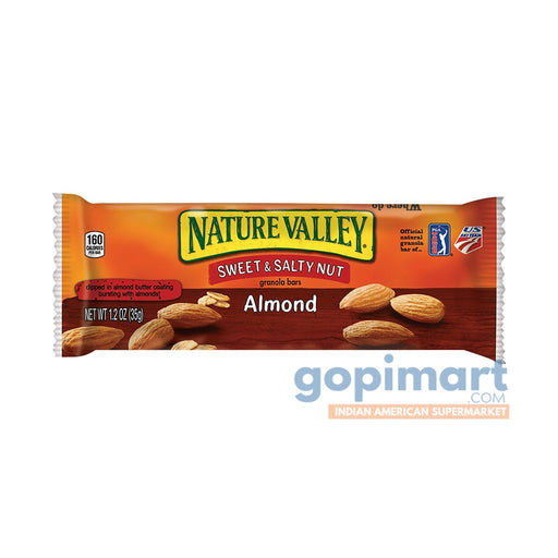 Nature Valley Sweet And Salty Nut Granola Bars Almond Snack Bars