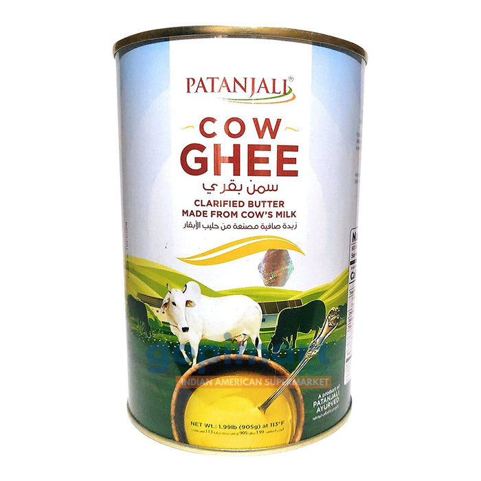 Patanjali Cow Ghee (Export - Tin Pack)