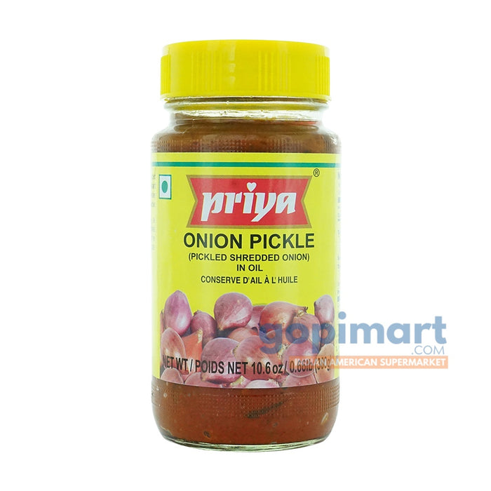Priya Onion Pickle (Shredded Onion)