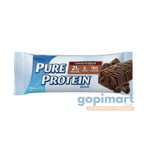 pure protein bar chocolate chocolate deluxe