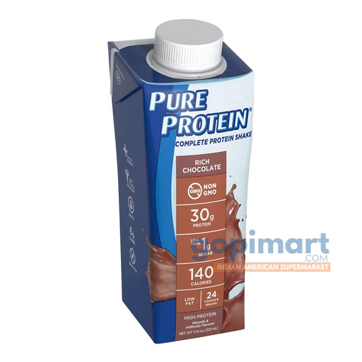 Pure Protein Complete Protein Shake, Rich Chocolate