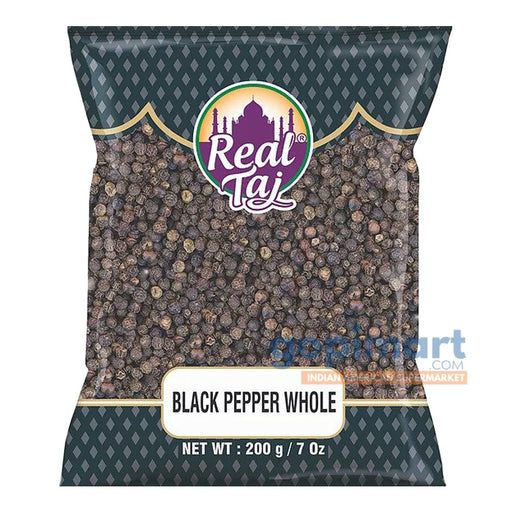 Real Taj Black Pepper Whole