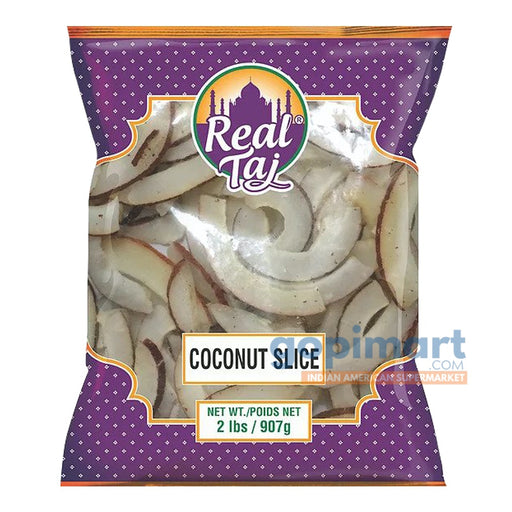 Real Taj Coconut Slice