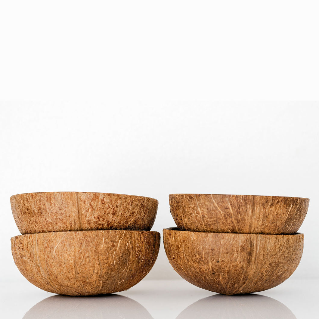 the palm lyfe l natural coconut bowls