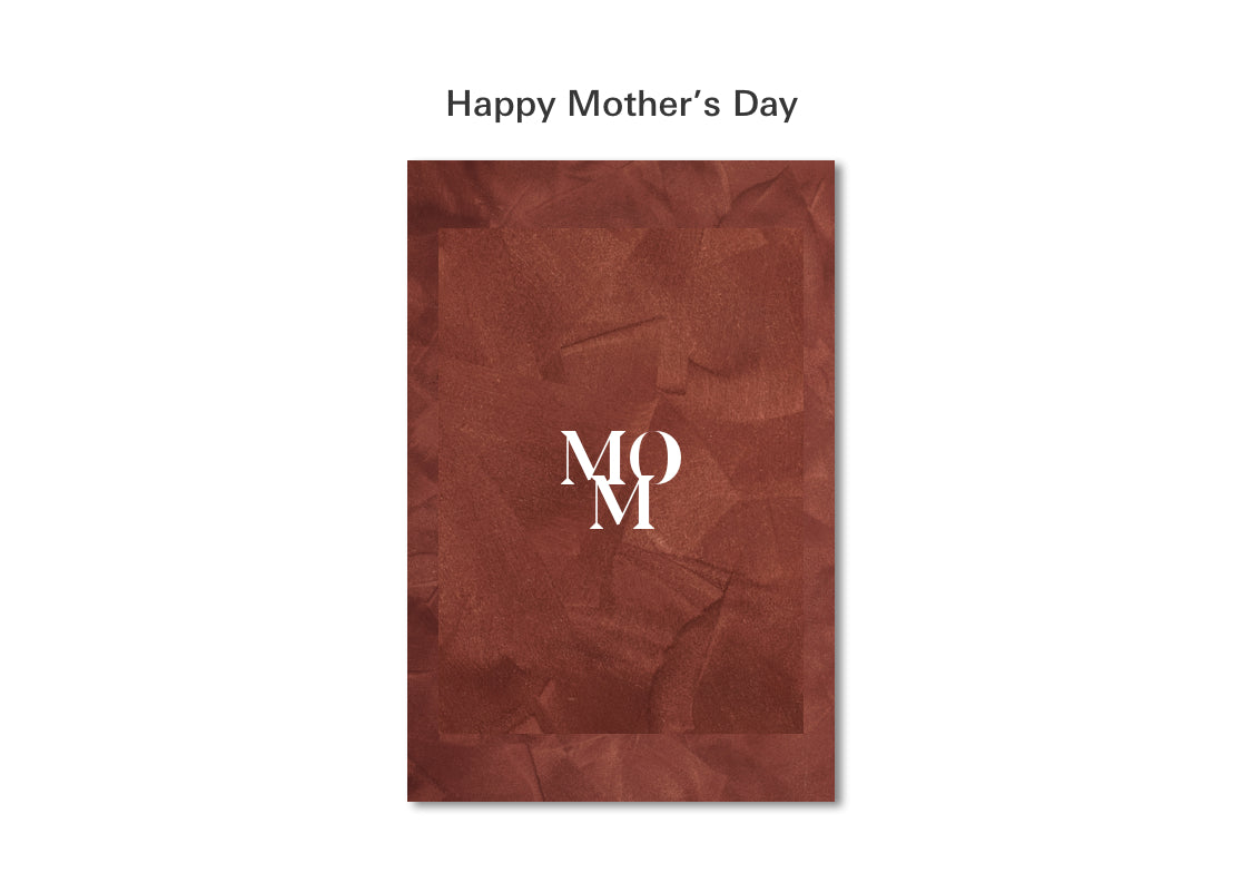 Mothers Day Card: MOM