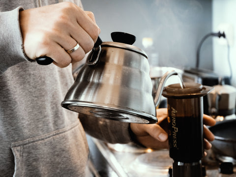 Brewing Coffee with AeroPress
