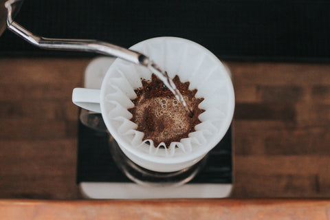 Brewing Pour Over Coffee