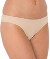 Triumph Sloggi Invisible Supreme Cotton Mini Bikini - New Beige-Front View