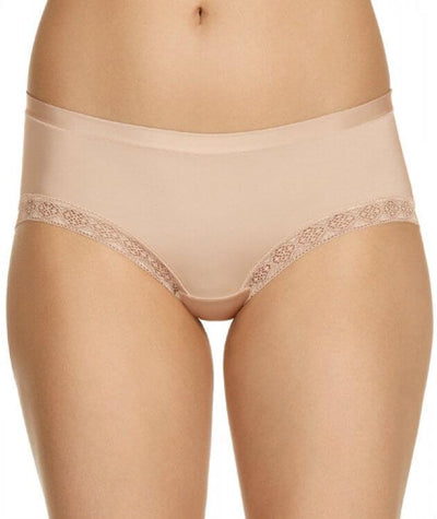 Berlei Barely There Luxe Boyleg - Soft Powder - Front