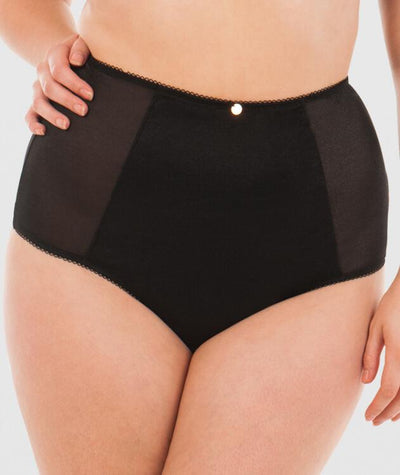 Scantily Entwine High Waist Thong - Black