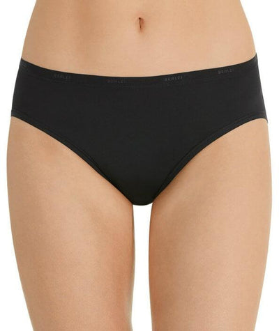 Berlei Basic Micro Hi Cut Brief - Black - Front