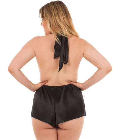 Scantilly Flawless Teddy - Black