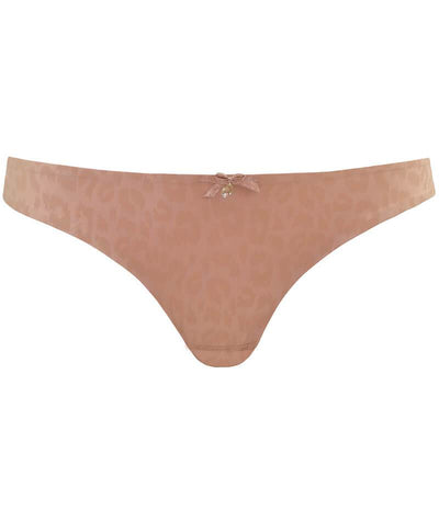 "Curvy Kate Smoothie Thong - Wild Blush ""Front"""