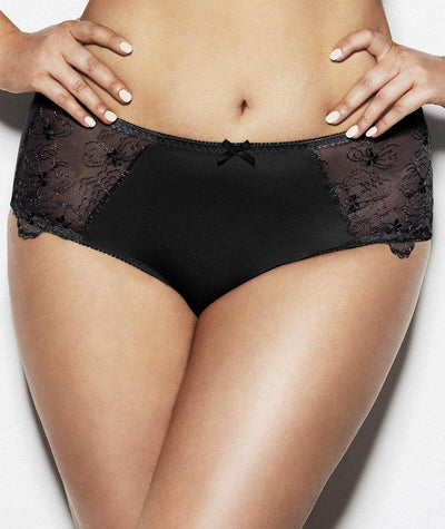 Hickory Amelie Maxi Brief - Black - Front