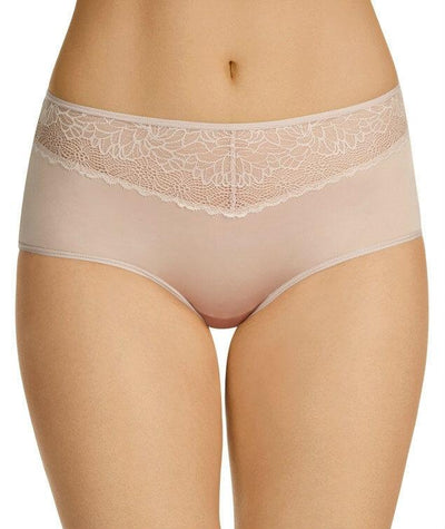 Berlei Luxury Lace Full Brief - Nude Lace - Front