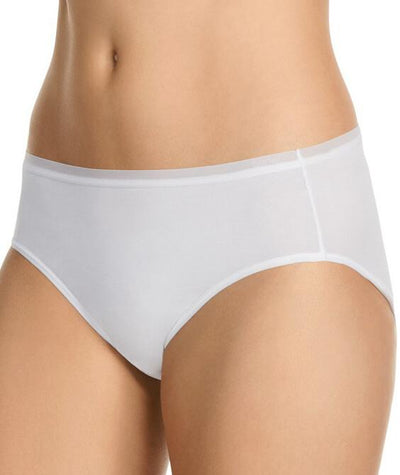 Berlei Nothing Naturals Hi Cut Brief - White
