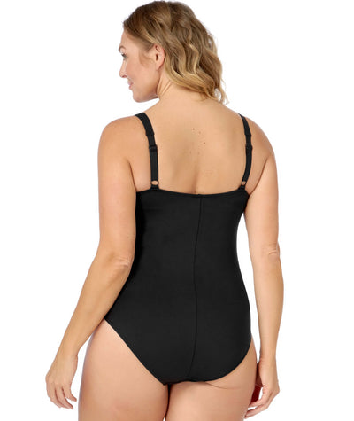 Artesands Twist Front Multifit One Piece wit Adjustable Straps Plains