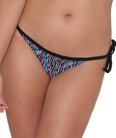 "Curvy Kate Galaxy Tie-Side Brief - Multi Print ""Front"""