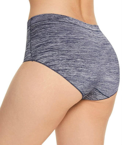Berlei Barely There Strata Full Brief - Navy - Back