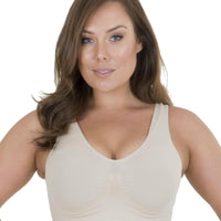 Sonsee High Back Comfort Bra - Nude