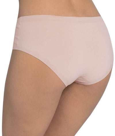 Triumph Sloggi Invisible Supreme Cotton Hipster Brief - New Beige - Back View
