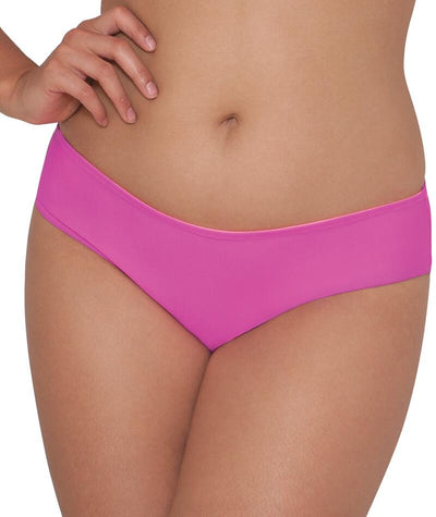 "Curvy Kate Peachy Pairs Reversible Short - Pink / Flamingo ""Front"""