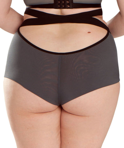 Scantilly Captivate High Waist Brief - Slate