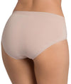 Triumph Sloggi Invisible Supreme Cotton Midi Brief - New Beige - Back View