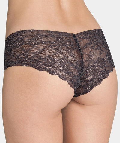 "Triumph Sloggi Light Lace 2.0 Hipster- Black ""back"""