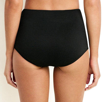 Seafolly High Waisted Bikini Brief - Black
