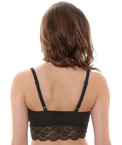 Freya Fancies F-G Cup Bralette - Black - Back