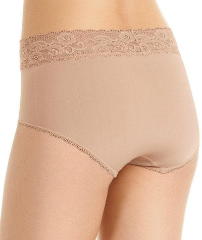 Berlei Barely There Deluxe Full Brief - Nude - Back