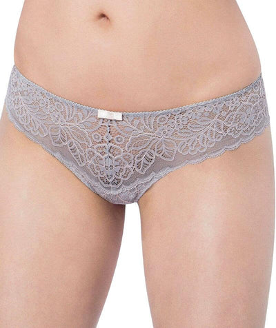 Triumph Amourette Spotlight Hipster-String - Grey Combination - Front