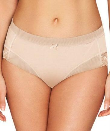 Fayreform The Perfect Form High Cut Brief - Latte - Front